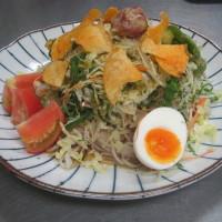 山福サラダ蕎麦