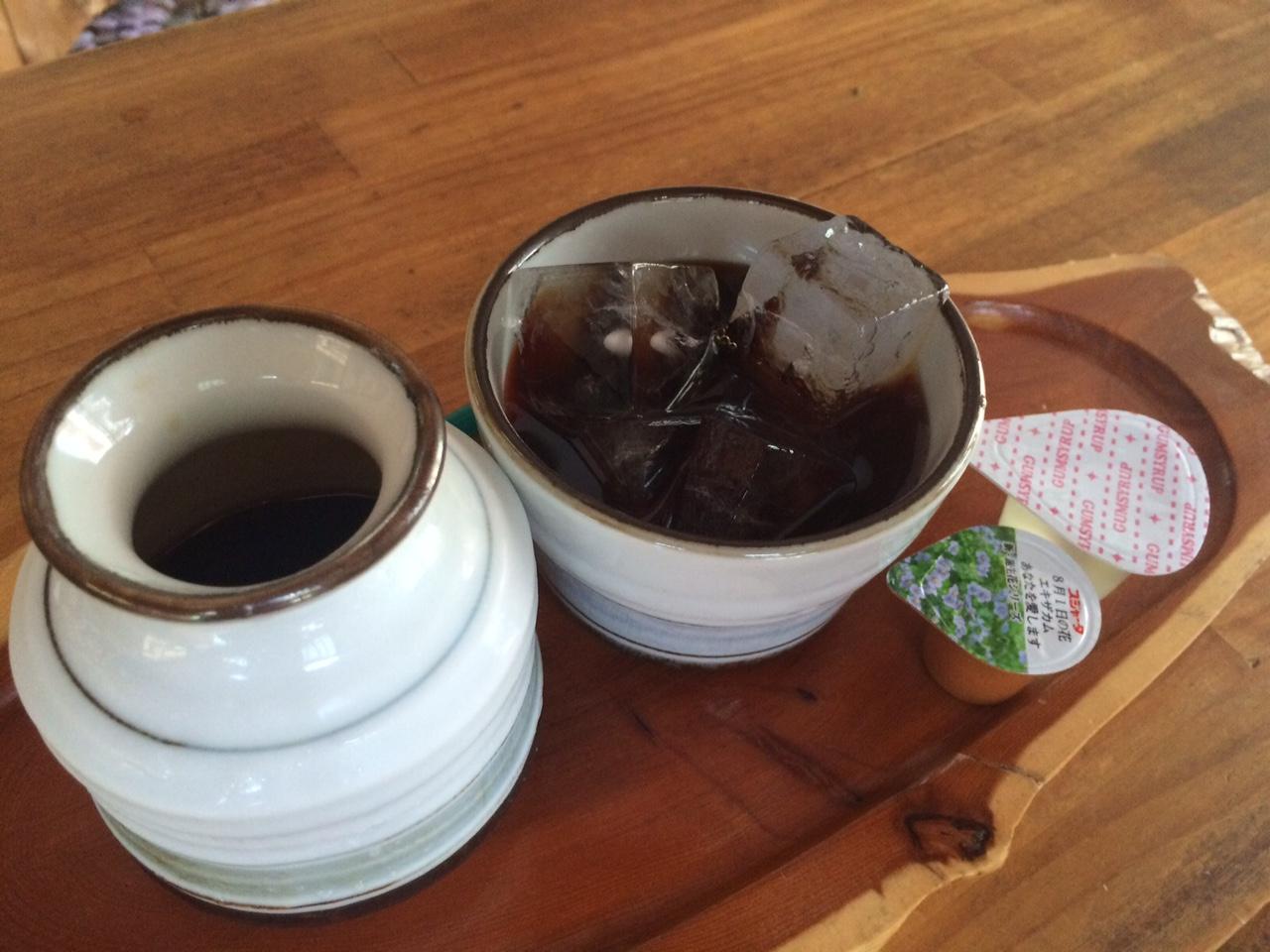 アイスコーヒー(入れた後)
